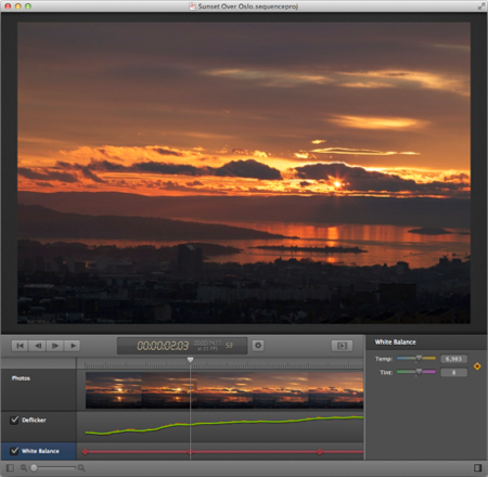 Sequence for Mac · Time Lapse Software: Assemble \u0026 Deflicker Your